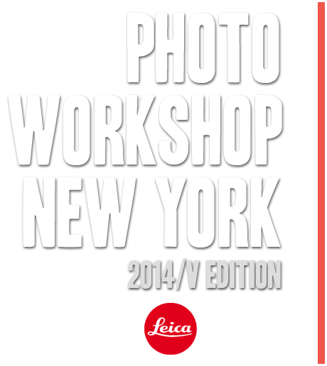 Photo Workshop New York 2014